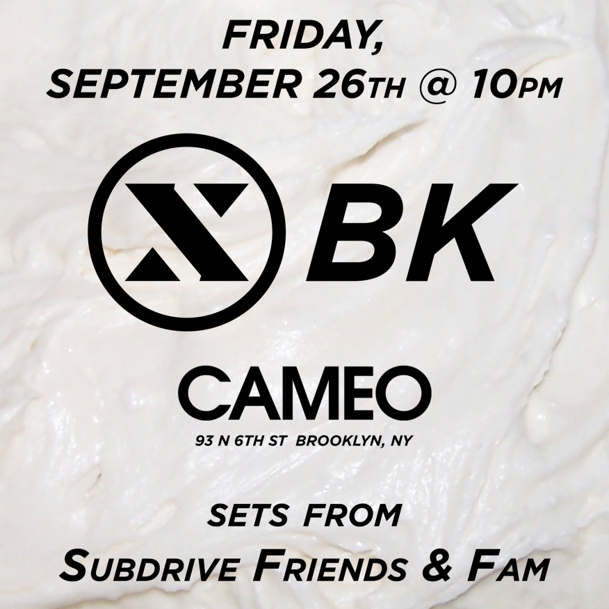 Subdrive at Cameo
